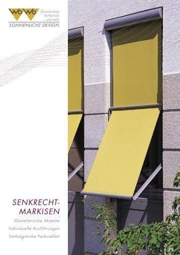 SENKRECHT- MARKISEN - WO&WO