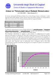 Università degli Studi di Cagliari - Dimeca