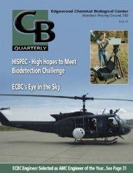 Final CB Quarterly Summer 2004.indd - Edgewood Chemical ...