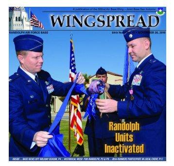 RANDOLPH AIR FORCE BASE 64th Year • No. 47 - San Antonio ...
