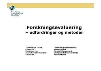 Slides - Dansk Evalueringsselskab