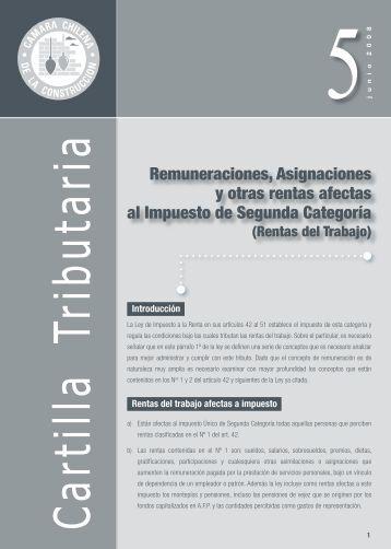 Remuneraciones, Asignaciones y otras rentas afectas al ... - Biblioteca