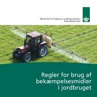 Regler for brug af bekæmpelsesmidler i jordbruget