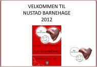 3-6 år og har 18 plasser - Bamble kommune