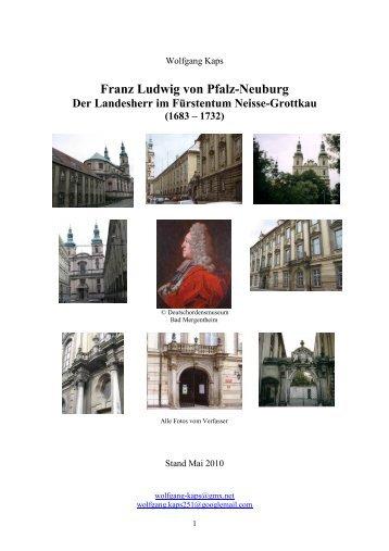 Der Landesherr im Fürstentum Neisse-Grottkau - Franz-Ludwig von ...