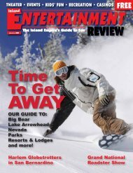 Time To Get - Inland Entertainment Review Magazine