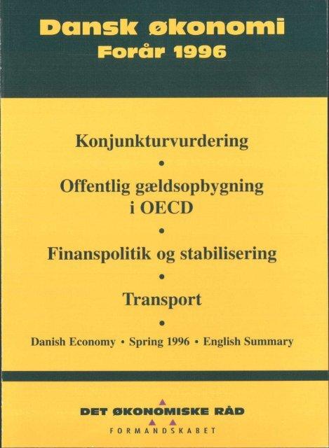 Dansk økonomi, forår 1996 - De Økonomiske Råd