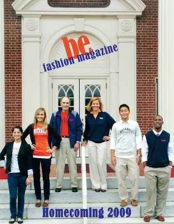 Homecoming (October) 2009 - Bucknell's Home Page