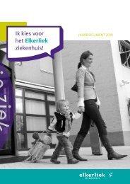 JAARDOCUMENT 2010 - Elkerliek