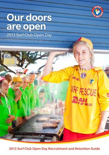 Recruitment and Retention Guide, 593Kb - Surf Life Saving NSW