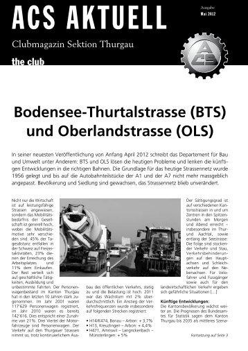 Mai 2012 - ACS Thurgau
