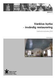 Vankiva kyrka - Regionmuseet Kristianstad