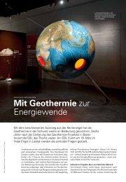EBL Strom-Magazin 1/13 - IEU AG