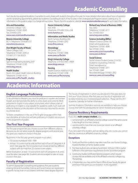Affiliated University Colleges - Academic Calendar - University of ...