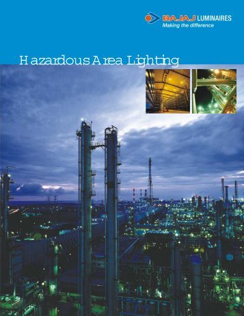 Hazardous area lighting Single page - Bajaj Electricals
