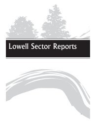 Lowell Sector Reports - Rogers-Lowell Area Chamber of Commerce
