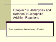 Chapter 19. Aldehydes and Ketones: Nucleophilic ... - Fgamedia.org