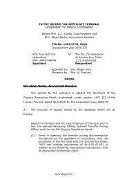 Four Soft Limited vs. Deputy Commissioner of Income Tax - TaxGuru