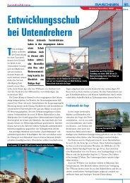 Entwicklungsschub bei Untendrehern - Vertikal.net