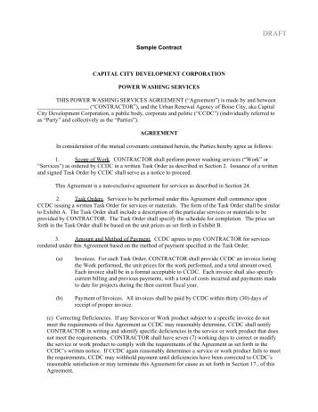 Development Agreement Contract Sample Software Development