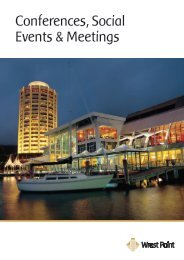 Conferences, Social Events & Meetings - Wrest Point Hotel Casino