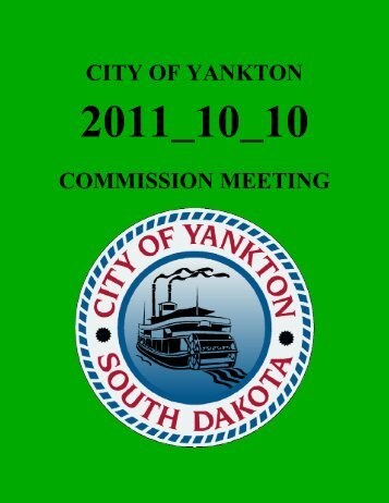 CITY OF YANKTON COMMISSION MEETING