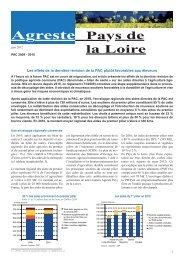 PAC 2009-2010 - Direction régionale de l'alimentation, de l ...