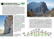 12 Via delle Bocchette Centrali: Von der Alimonta- zur Pedrottihütte