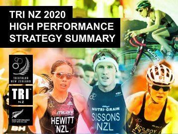 2020 High Performance Plan - Triathlon New Zealand