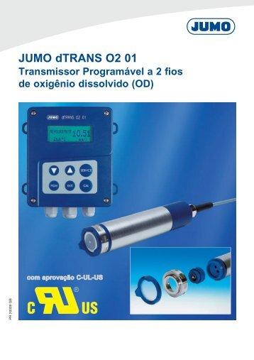 JUMO dTRANS O2 01 - Digitrol