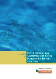 Guidelines for Port & Harbour Risk Assessment and Safety ...