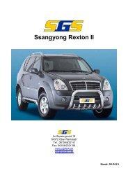Rexton Typ RJ ab Bj. 2006 - SGS