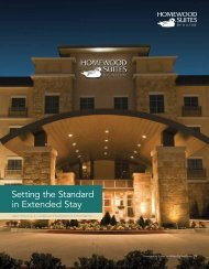 Setting the Standard in Extended Stay - Hilton Worldwide
