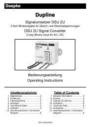Bedienungsanleitung / Operation Instructions - Induteq