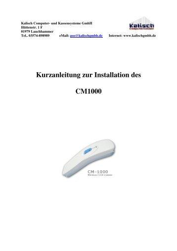 Kurzanleitung (deutsch) - Kalisch Computer- und Kassensysteme ...
