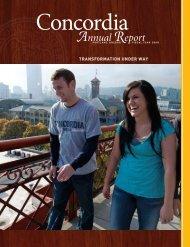 Annual Report - Concordia University