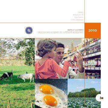 l'afsca: 10 ans au service de la sécurité alimentaire - Favv