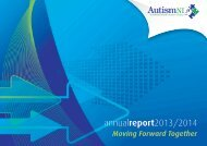 Autism Annual Report 2014