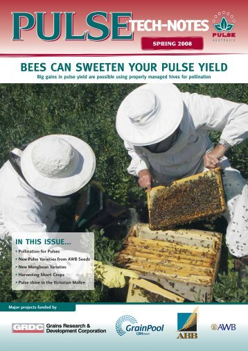 pollination for pulses? - Pulse Australia