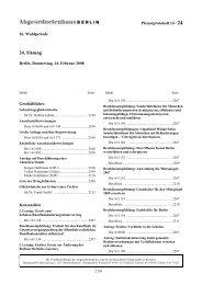 Plenarprotokoll der 24. Sitzung - Abgeordnetenhaus von Berlin