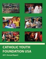 2011 Scholarships - Catholic Youth Foundation USA