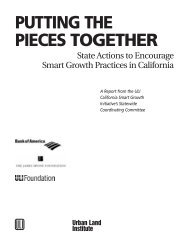 Putting the Pieces Together - Urban Land Institute