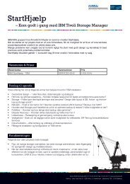 StartHjælp - TSM - Arrow ECS