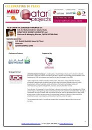 HE Dr. Mohammed bin Salah al-Sada MINISTER OF ... - MEED Events