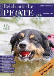 """Gewinnspiel """"Mitmachen und Gewinnen"""" Der nasse Hund"""