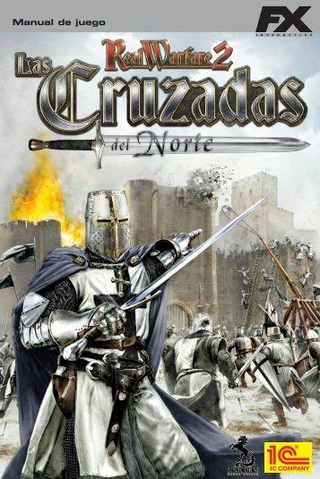 Real Warfare 2, Las Cruzads del Norte - Manual digital - FX Interactive