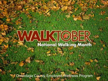 Onondaga County Employee Wellness Program