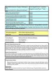 Clinica medica - Medicina Veterinaria