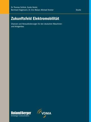 Zukunftsfeld Elektromobilität - Roland Berger