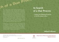 In Search of a Due Process